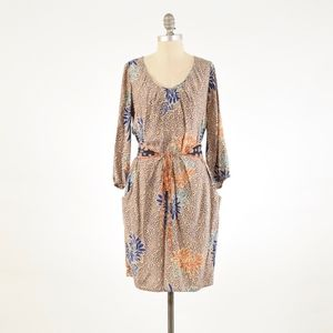 Anthropologie Corey Lynn Calter Mixed Print Dress